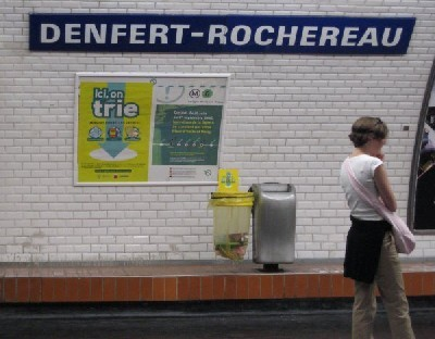 metro Denfert-Rochereau