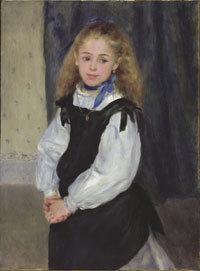 Renoir, Portrait of Mademoiselle Legrand, 1875