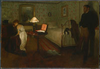 Degas, Interior, 1868 or 1869