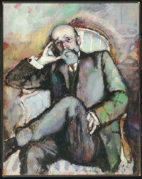 Duchamp. Portrait of the Artist's Father, 1910