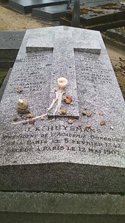 ジョリス=カルル・ユスマンスのお墓@モンパルナス墓地