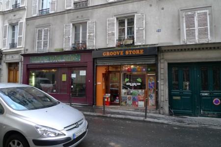 パリのレコ屋 Groove Store