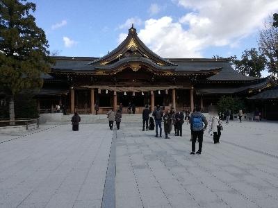 寒川神社社殿