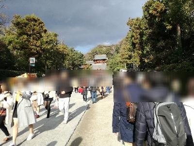 鎌倉鶴岡八幡宮参道
