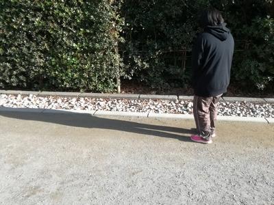 鶴岡八幡宮りす