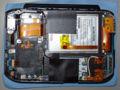VGN-UX90PSの背面カバーを外したところ