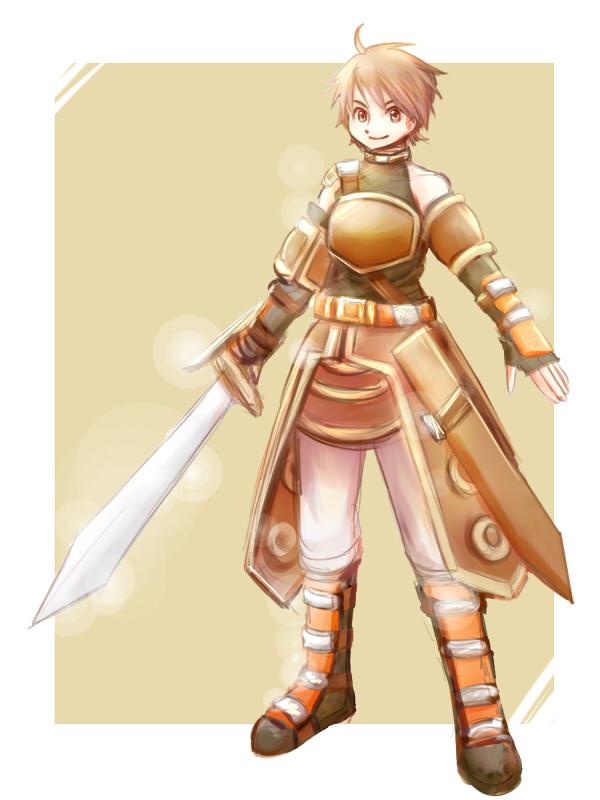 剣士 脳内ストーリーの主人公。勇者になりたかったのに頭が悪すぎて