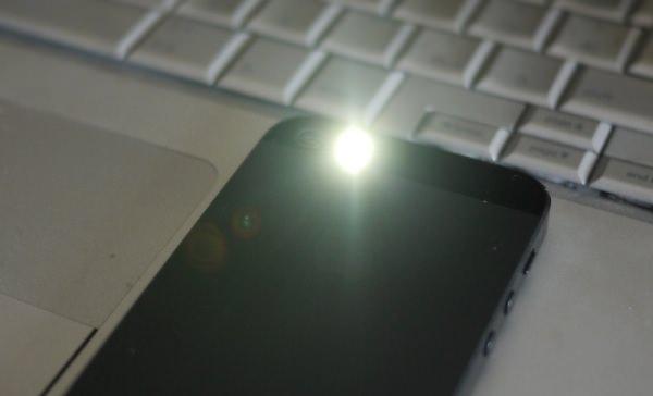 LED着信画像