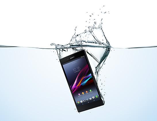 Xperia Z Ultra 防水機能のイメージ画像