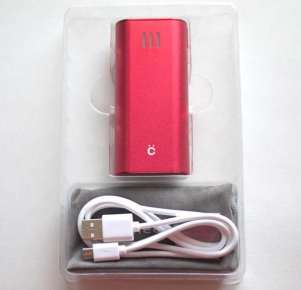 cheero Power Plus 2 mini 6000mAhのパッケージを開封した画像