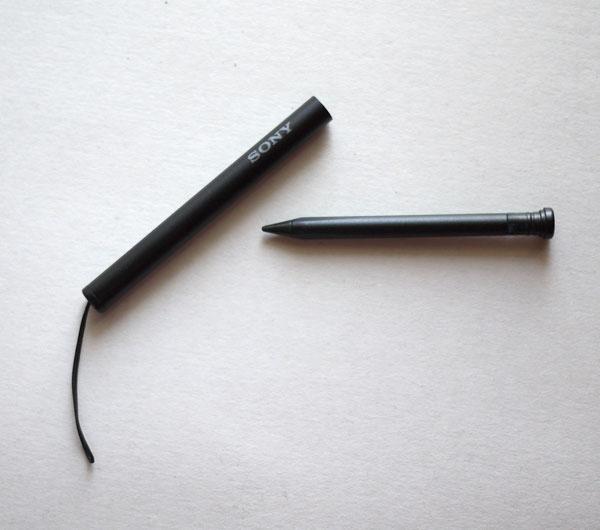 Xperia Z Ultra スタイラスペン  本体を取り出してみた