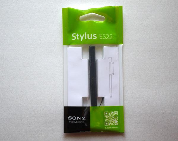 Xperia Z Ultra スタイラスペン 製品画像