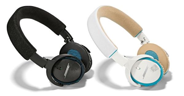 ボーズ サウンドリンク オンイヤー Bluetooth ヘッドホン ブラックモデルとホワイトモデル