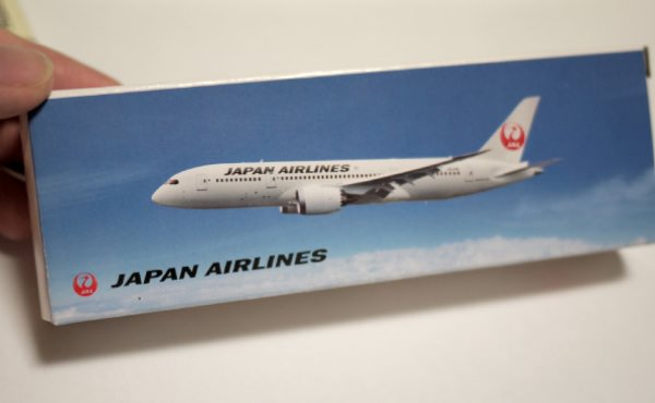 JALの飛行機模型
