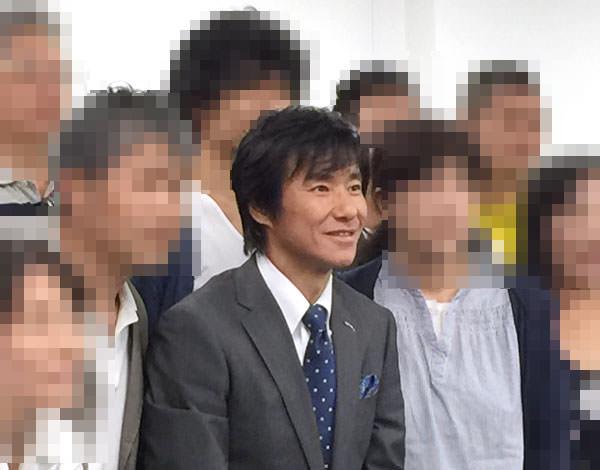 ファイテンのイベントに登場したサッカー日本代表 中山雅史選手