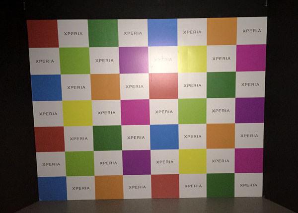 Xperia Z3 テスト撮影の暗室 カーテンを開けて iphoneで撮影