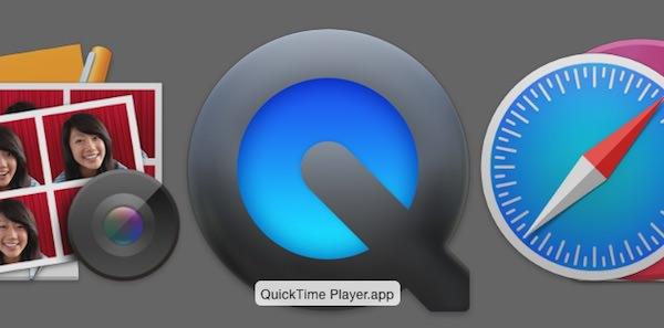 MacintoshのQuickTimePlayer タイトル画像