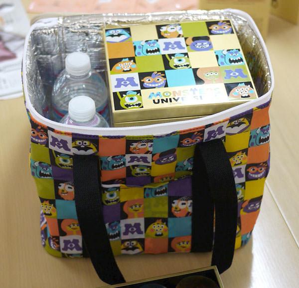 モンスターズ・ユニバーシティ四段重 付属の保冷バッグ