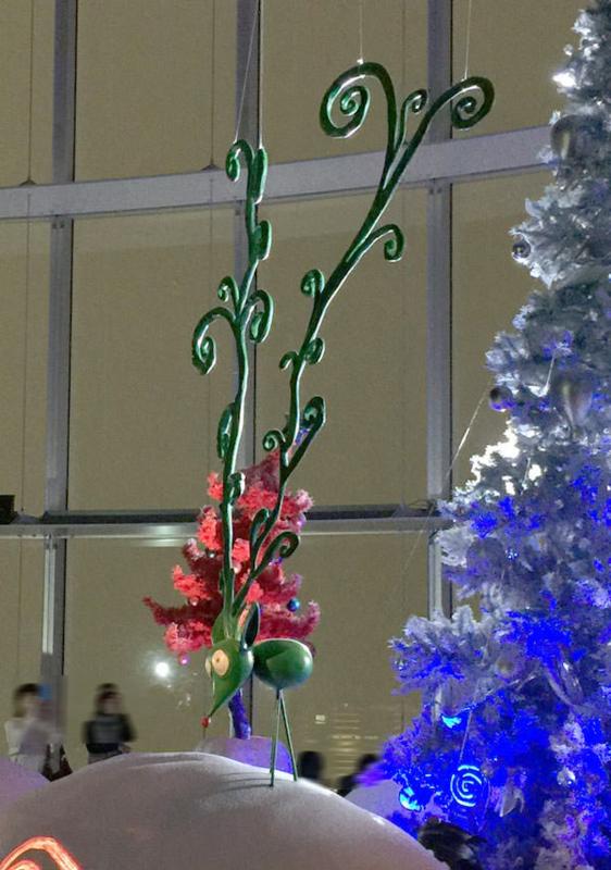 六本木ヒルズ「ティム・バートンの世界」クリスマスツリーのトナカイ