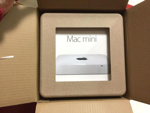 Mac mini Late 2014 ダンボール箱