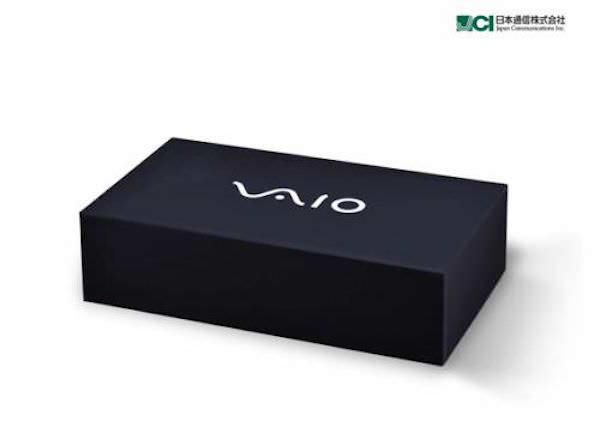 VAIOスマートフォン パッケージ画像