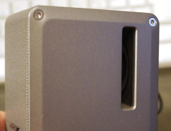 ボーズのコンピューターミュージックモニター パッシブ・ラジエーター
