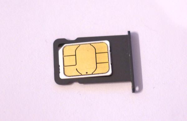 解約したauのSIMカード