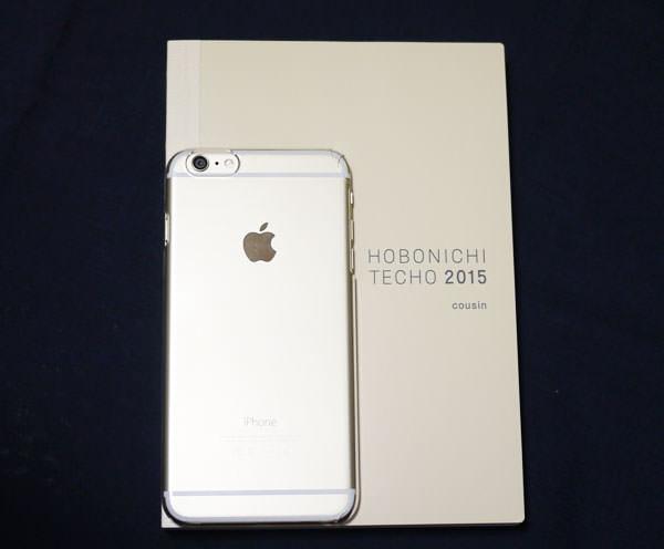 iPhone 6 Plus と大きさを比較した画像