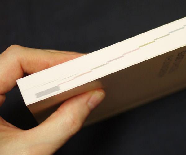手帳の厚さは結構ある
