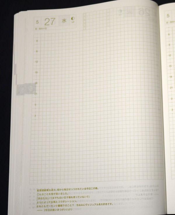 1日1ページの仕様なのでたくさん書ける