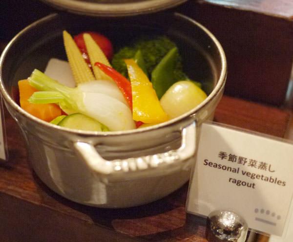 ココット料理 季節の野菜蒸し