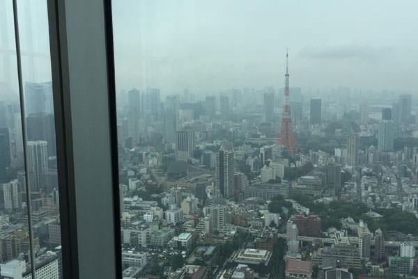 東京シティビューからの外の景色
