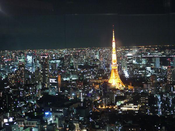 東京シティビューからの夜景