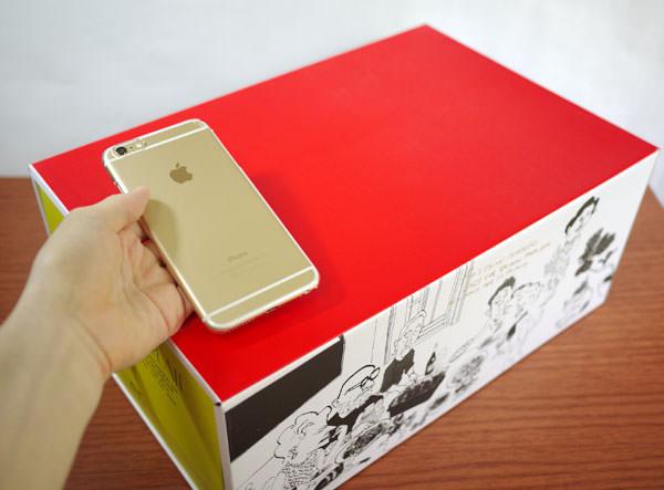 iPhone 6 Plusと大きさ比較2