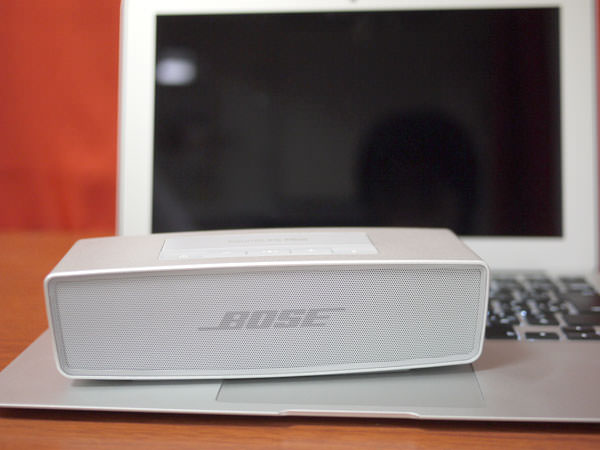 BOSE SoundLink Mini Bluetooth speaker II と Macbook Air
