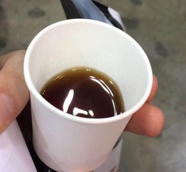 ウガンダのコーヒーはあっさりしていてボディがない