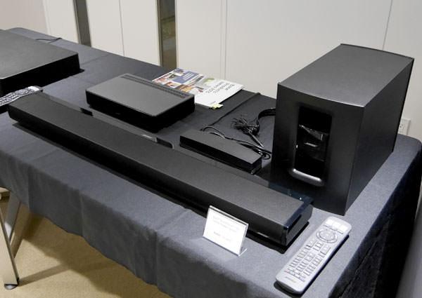 ボーズ サウンドタッチ130 ホームシアターシステム 全体画像