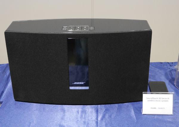 ボーズ サウンドタッチ30 シリーズIII ワイヤレスミュージックシステム 製品画像