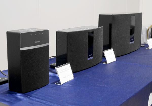 ボーズ の据え置き型ワイヤレススピーカー サウンドタッチシリーズ3機種