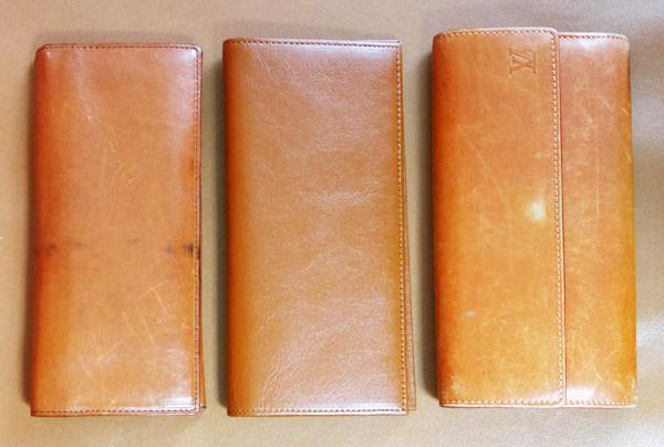 ルイヴィトンやココマイスターの財布と大きさを比較してみた