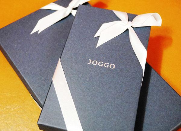 JOGGOのプレゼントパッケージ