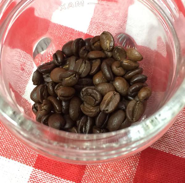 コーヒー豆を挽くことができる