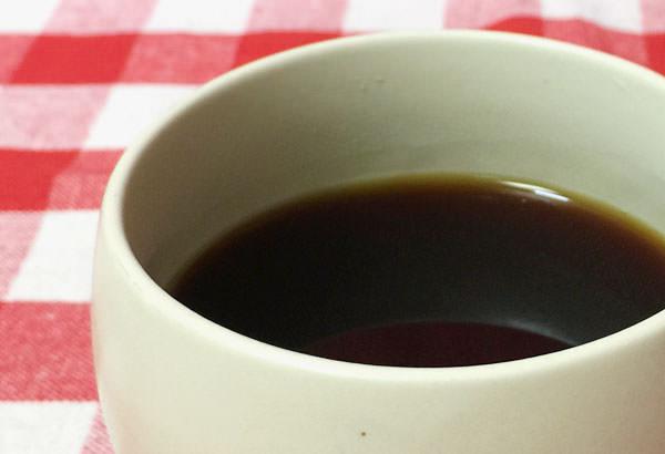 コーヒーを淹れていただきました