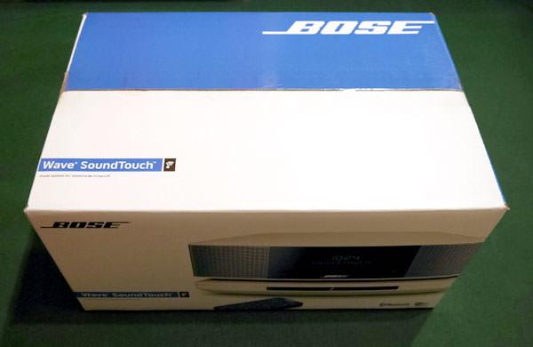「Wave SoundTouch music system IV」のダンボール箱