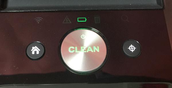 ルンバ980本体のボタン2つを同時に押す