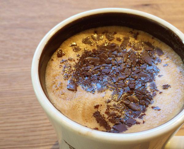 カフェモカ チョコレートシロップじゃない