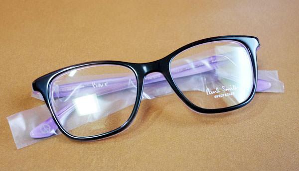ポールスミスのメガネ「ポールスミス NEAVE-BLACK HORN」全体画像