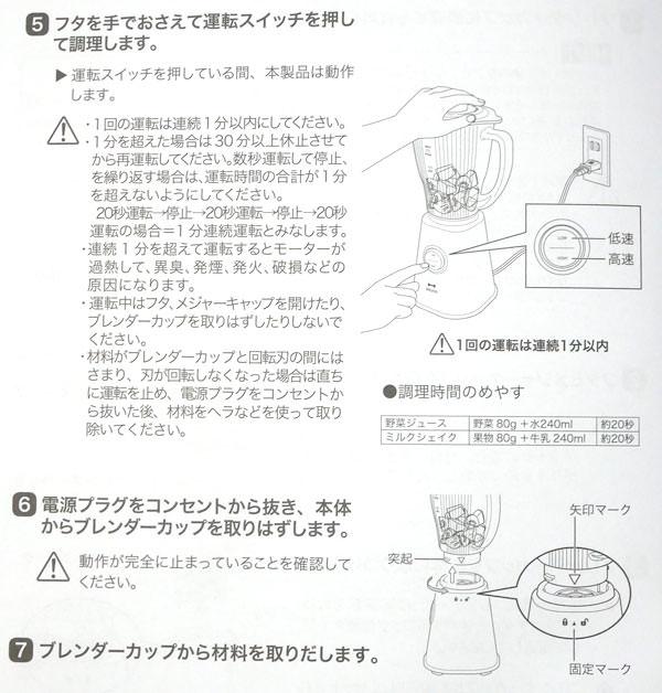 使用手順の説明2