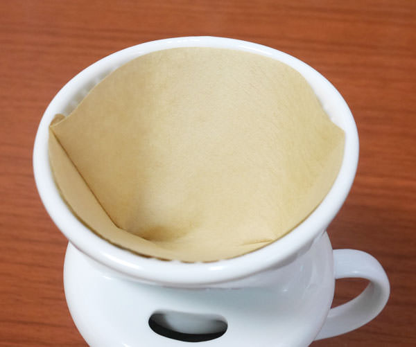 「カリタ コーヒーフィルター 101」をセットした