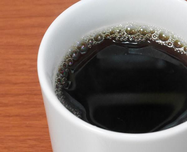 完成したコーヒーを飲んでみた